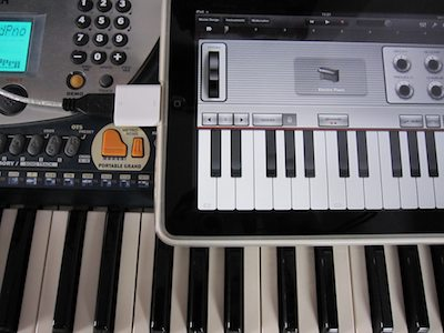 Piano Garage Band : Ipad garageband via midi mit echten tasten gzb u gero zahns